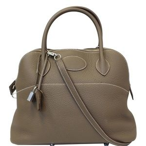 HERMES BOLIDE 31 TAURILLON CLEMENCE LEATHER